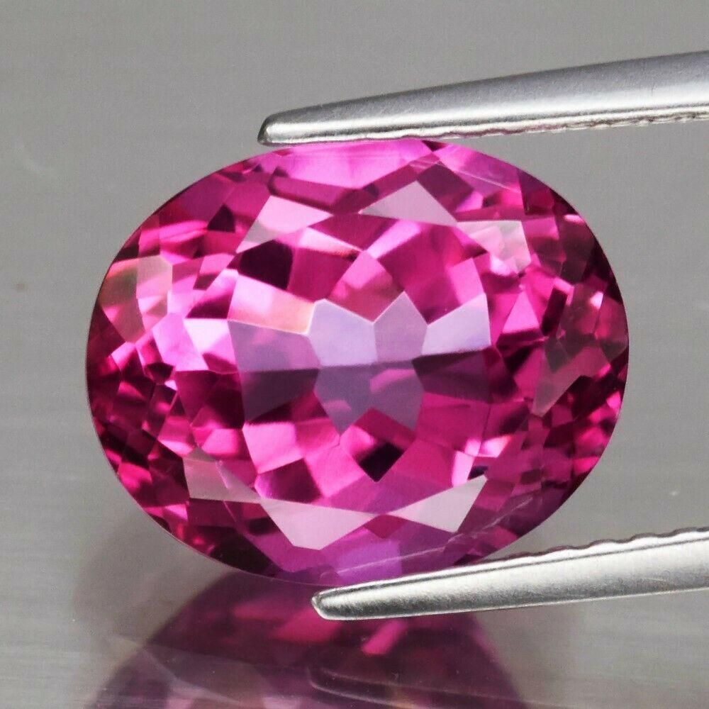 Натуральний рожевий 5.08 Ct 11x9mm