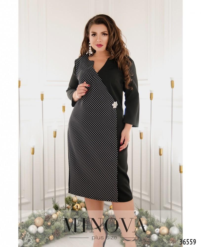 Платье №103-1-черный