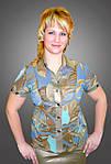 Блуза женская шифоновая БЛ 009, фото 2