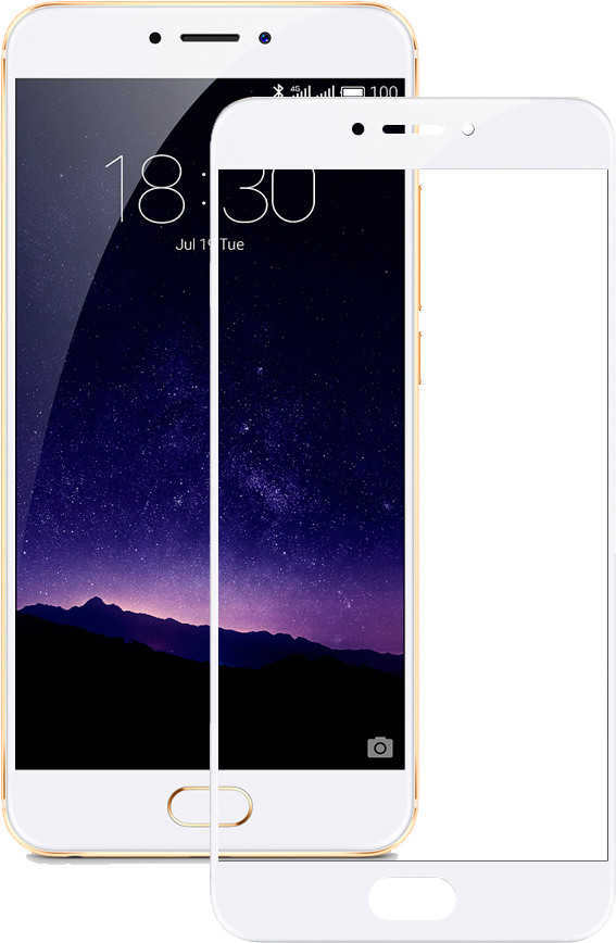 Защитное стекло Mocolo 2.5D Full Cover Tempered Glass Meizu MX6 White