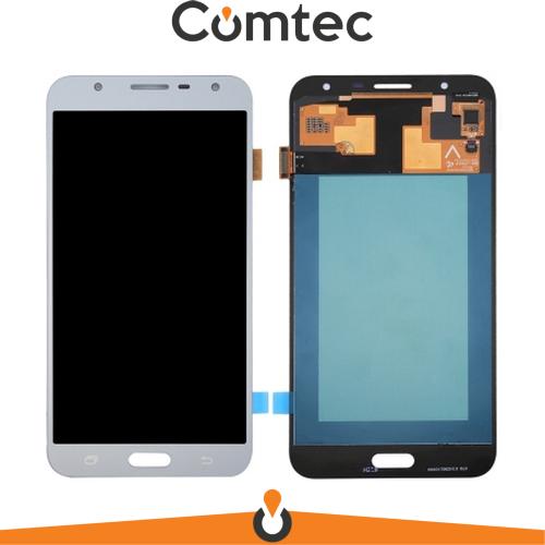 Дисплей для Samsung J701F Galaxy J7 Neo с тачскрином (Модуль) серебристый, OLED