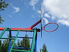 Ігровий комплекс для вулиці з гойдалками і гіркою, фото 6