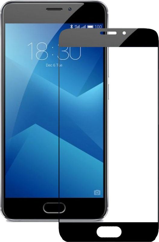 Защитное стекло Mocolo 2.5D Full Cover Tempered Glass Meizu M5 Note Black