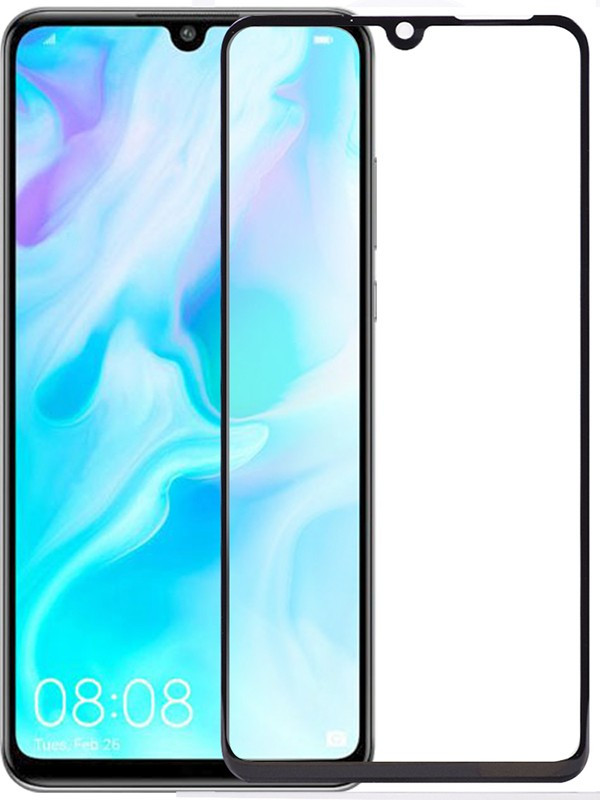 Защитное стекло TOTO 5D Cold Carving Tempered Glass Huawei P30 Lite Black