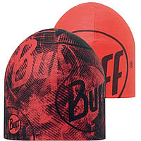 Шапка Buff Reflective Coolmax Reversible Hat, R-Crash Fiery Red - Fiery Red