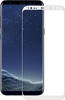 Защитное стекло Mocolo 3D Full Cover Tempered Glass Samsung Galaxy S8 Plus White