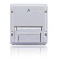 Метеостанция Часы Гигрометр Влагомер HTC-1 Белый (up5050)