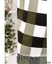Оригинальный костюм-двойка с юбкой и кофтой батал с 50 по 68 размер, фото 2