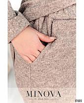 Уютный женский брючный костюм с 50 по 64 размер, фото 2