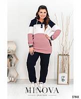 Модный женский спортивный костюм с 50 по 64 размер