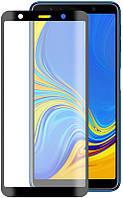 Защитное стекло TOTO 5D Full Cover Tempered Glass Samsung Galaxy A7 2018 Black