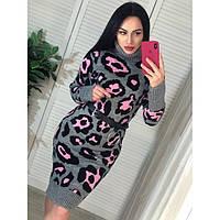 Вязаное  женское платье Вязка 79932