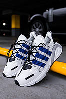 "Стильные кроссовки Adidas Lexicon ""White/Blue/Black"", фото 1"