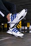 "Стильные кроссовки Adidas Lexicon ""White/Blue/Black"", фото 6"