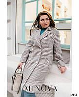 Элегантное классическое женское пальто с 48 по 62 размер