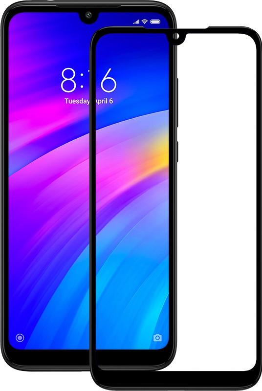 Защитное стекло TOTO 5D Full Cover Tempered Glass Xiaomi Redmi 7 Black