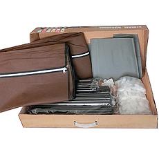 Большой тканевый шкаф на 3 секции HCX 153NT 130х45х175 см, фото 2