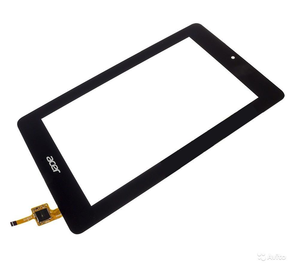 Тачскрин для Acer B1-730 Iconia One 7, черный
