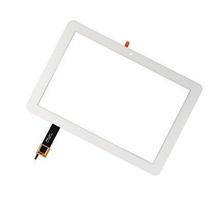Тачскрин для Acer A3-A20 Iconia Tab 10, белый, с передней панелью (рамкой)