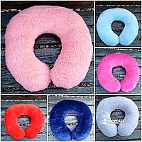 Дорожная подушка-валик из овечьей шерсти в ассортименте