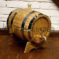 Дубова бочка для напоїв Fassbinder™, 5 літрів, фото 1