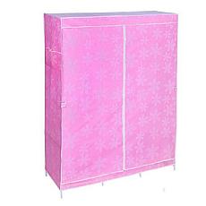 Большой тканевый шкаф на 3 секции HCX 153NT 130х45х175 см, фото 3