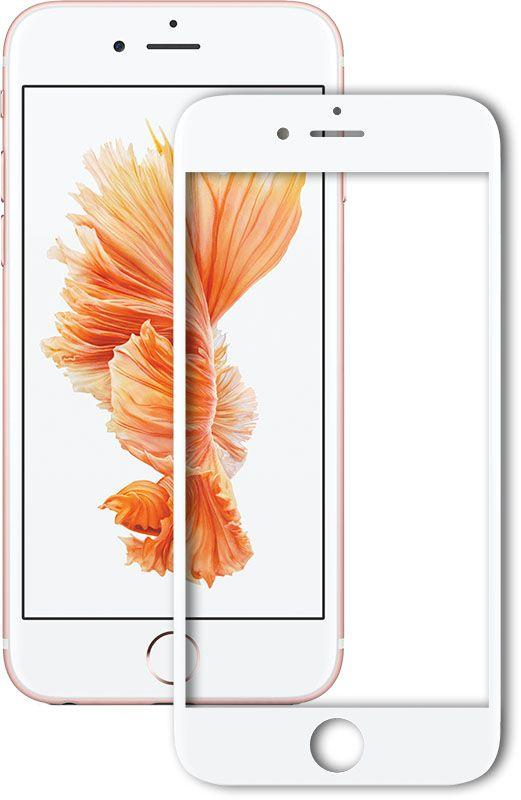 Защитное стекло Mocolo 2.5D Full Cover Tempered Glass iPhone 7 Plus Silk White