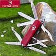 Складной армейский нож Victorinox Minichamp 06385 красный, фото 2