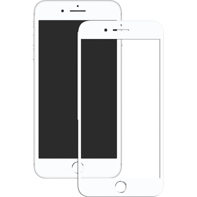Защитное стекло Mocolo 2.5D Full Cover Tempered Glass iPhone 8 Plus White