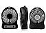 Мини Вентилятор настольный портативный Mini Fan с Акумулятором USB батарейках в дорогу, машину, поезд, дачу, фото 2