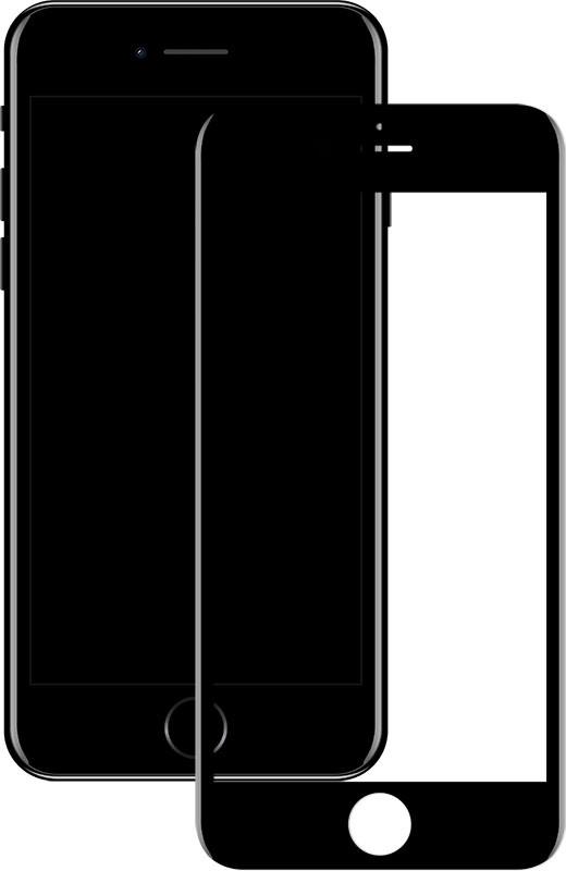 Защитное стекло Mocolo 2.5D Full Cover Tempered Glass iPhone 8 Black