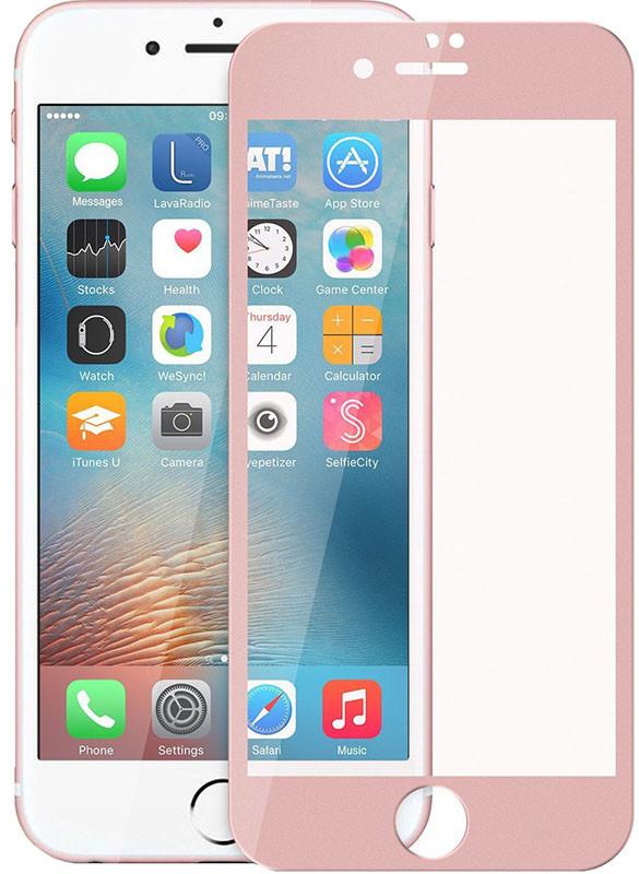 Защитное стекло TOTO 3D Full Cover Tempered Glass iPhone 7 Rose Gold