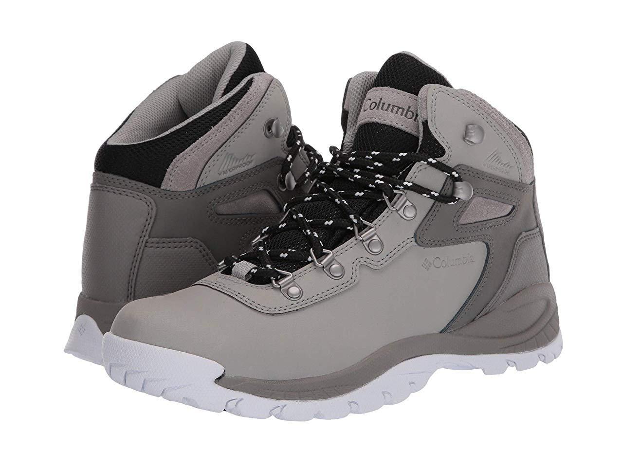 Ботинки/Сапоги Columbia Newton Ridge Plus Dove/White