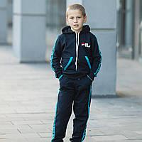 Трикотажный детский костюм спортивный для мальчика Fila (3-7 лет)