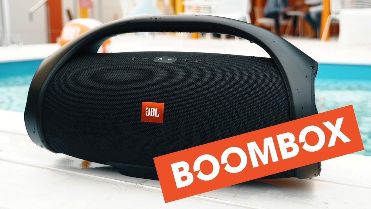 JBL Boombox БОЛЬШАЯ портативная Bluetooth колонка с ручкой