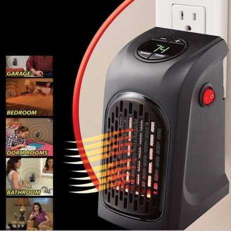 Обігрівач Rovus Handy Heater 400 Вт З дистанційним пультом управління Ровус Хенді Хитрий (Хенді Хитрий)