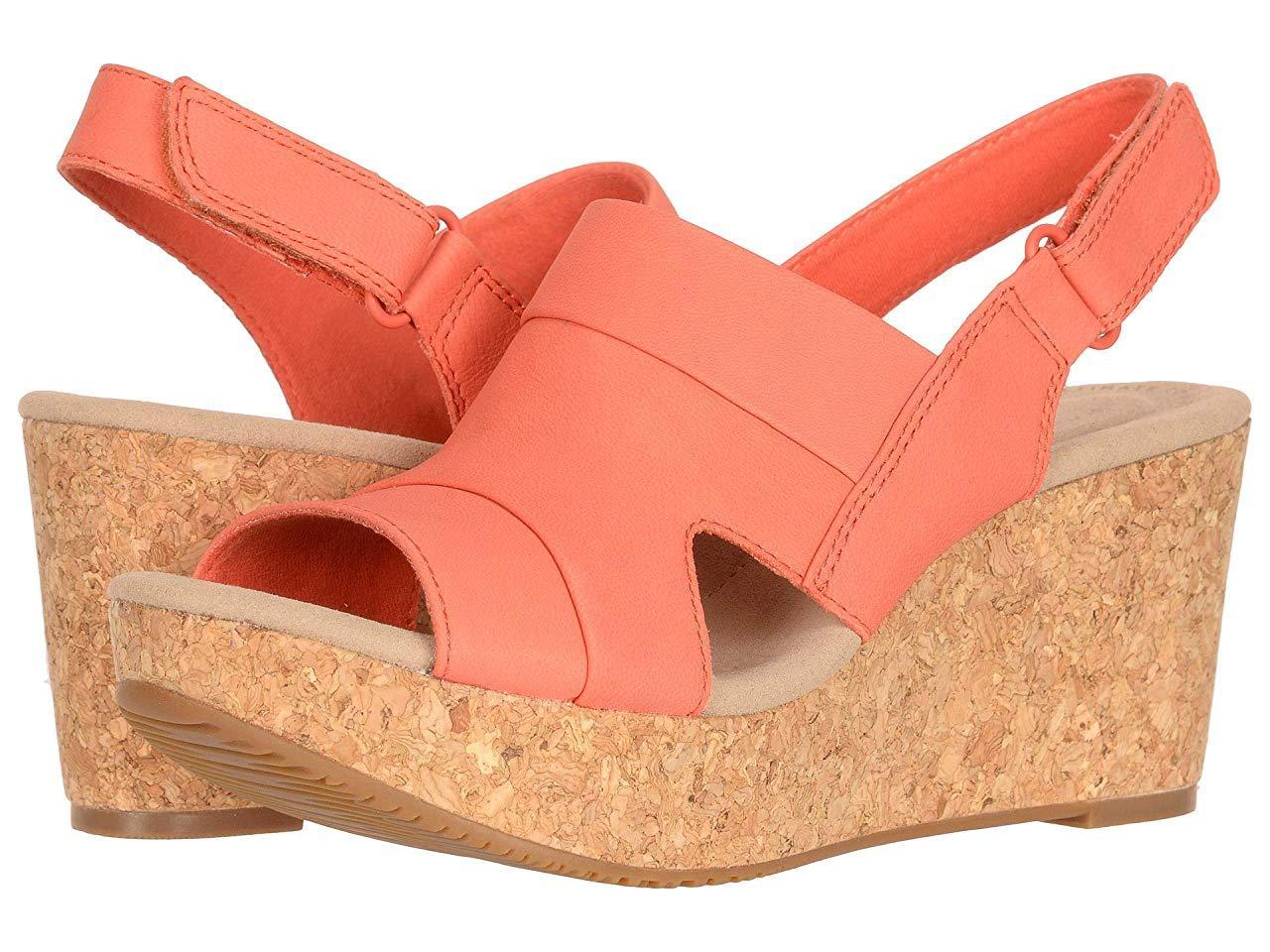 Туфли на каблуке Clarks Annadel Ivory Coral Nubuck