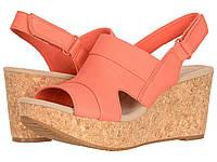 Туфли на каблуке Clarks Annadel Ivory Coral Nubuck, фото 1