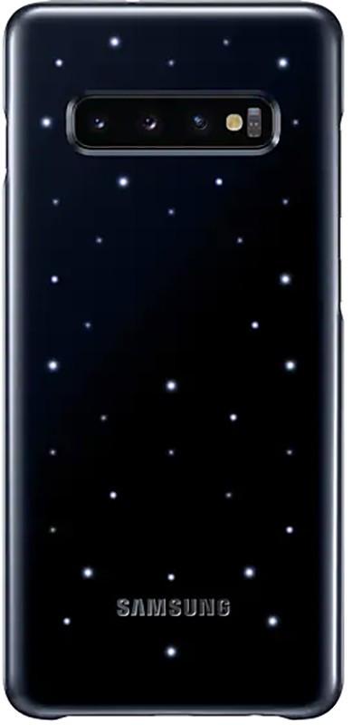 Чехол-накладка Samsung LED Cover Galaxy S10 Plus (EF-KG975) Black
