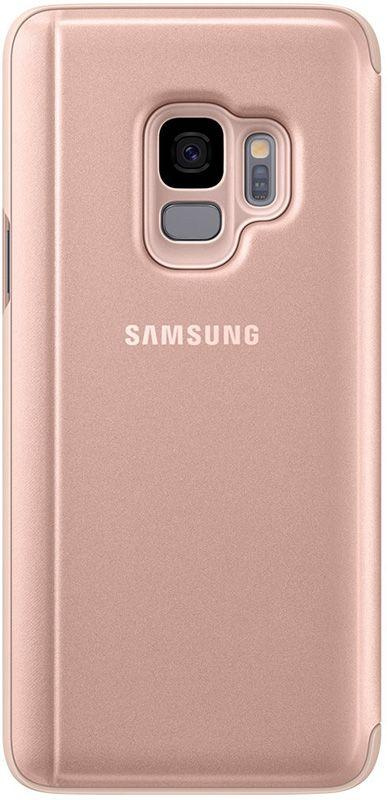 Чехол-книжка Samsung Clear View Standing Cover Galaxy S9 EF-ZG960 Gold