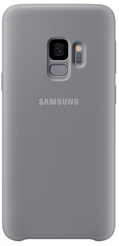 Чехол-накладка Samsung Silicone Cover Galaxy S9 (EF-PG960) Gray