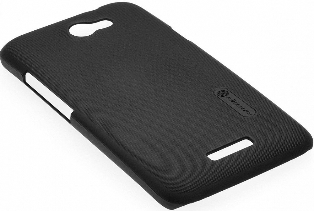 Чехол-накладка Nillkin Matte HTC Desire 400 (+пленка) Black/Brown