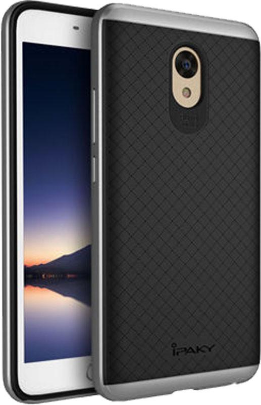 Чехол-накладка Ipaky TPU+PC Meizu M5 Note Black/Grey