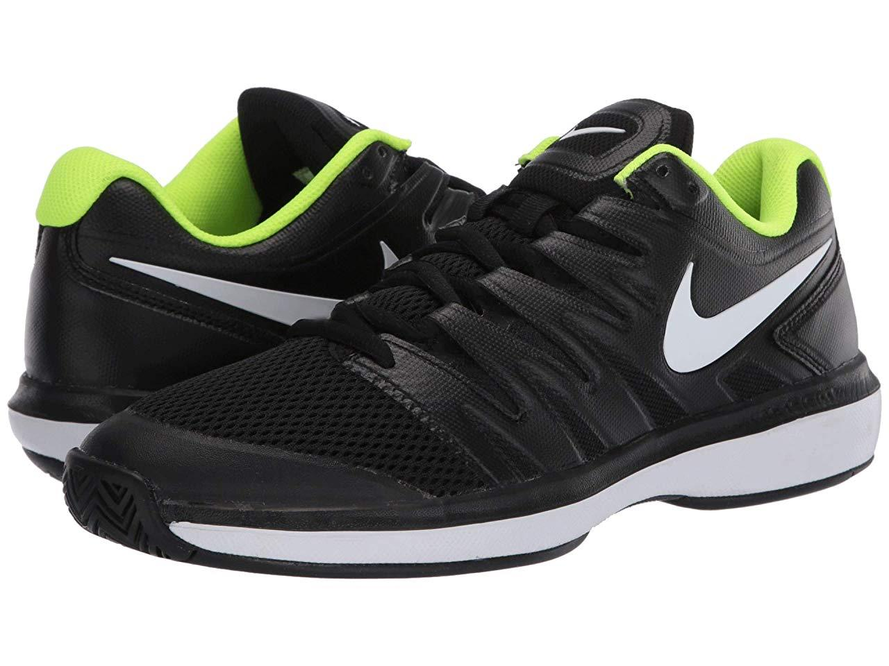 Кроссовки/Кеды Nike Air Zoom Prestige Black/White/Volt