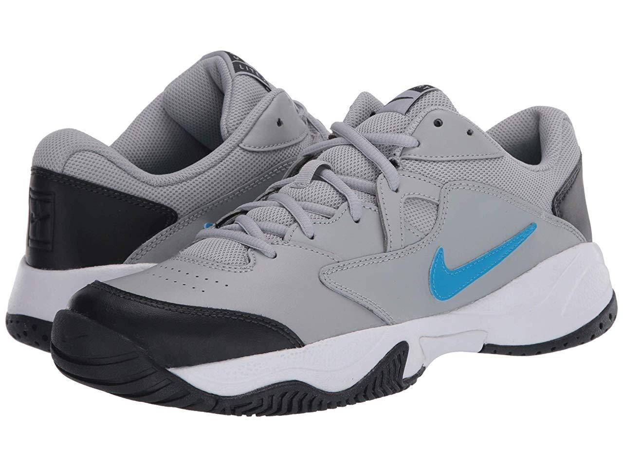Кроссовки/Кеды Nike Court Lite 2 Light Smoke Grey/Blue Hero/Off Noir/White