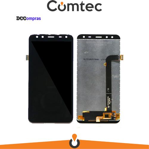 Дисплей для Leagoo S8 с тачскрином (Модуль) черный