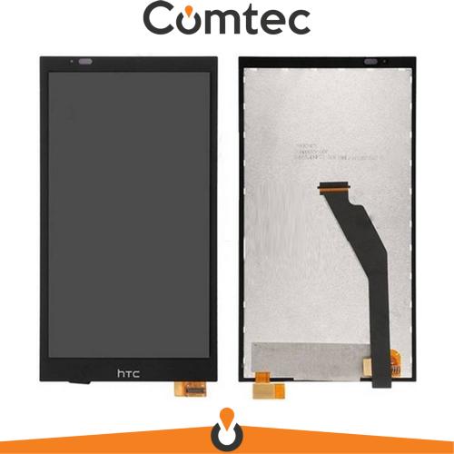 Дисплей для HTC 816G Desire Dual Sim/816H с тачскрином (Модуль) черный, черный шлейф, 39 pin
