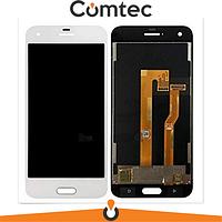 Дисплей для HTC One A9s с тачскрином (Модуль) белый, оригинал
