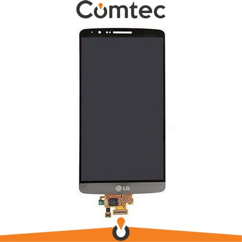 Дисплей для LG D855 G3/D858/D859 с тачскрином (Модуль) серый, оригинал