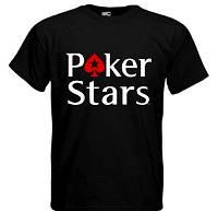 Футболка прикольная  Poker Stars
